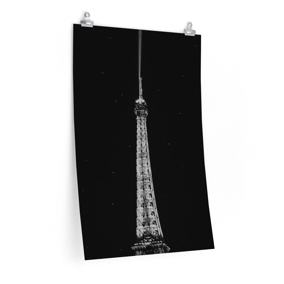 Eiffel Tower to the sky - Vertical Print