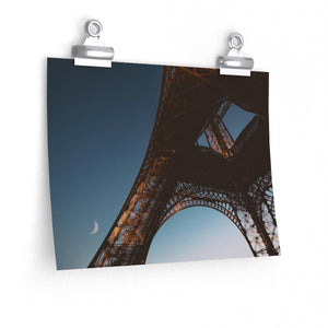 Paris Lune - Horizontal Print