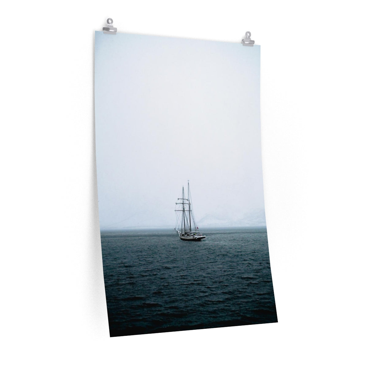 Norwegian Pirate Ship - Vertical Print