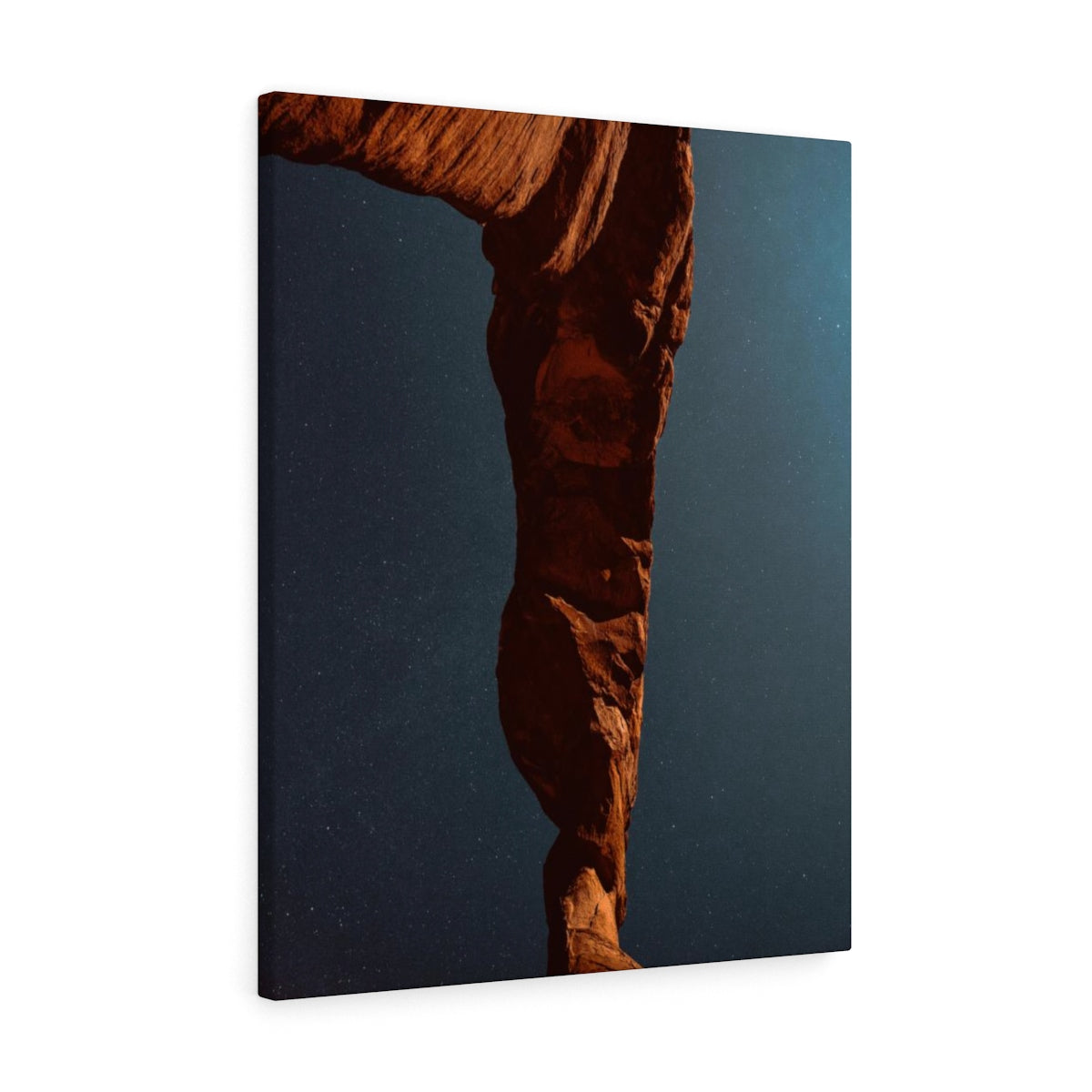 Delicate Night Sky Utah - Canvas