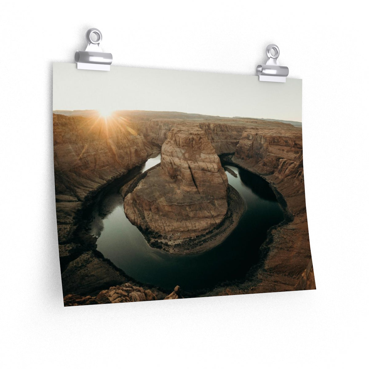 Horseshoe Bend Sunset - Wide Print