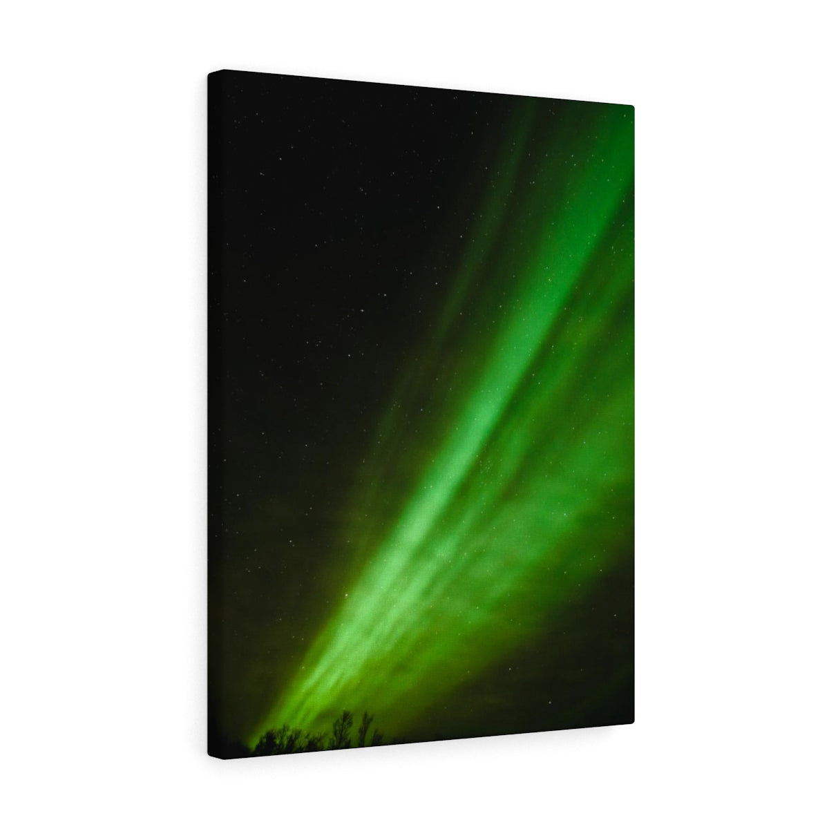 Northern Lights Swoosh - Canvas