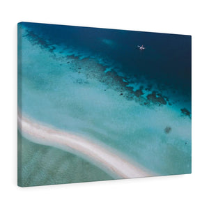 Maldives Seaplane - Canvas