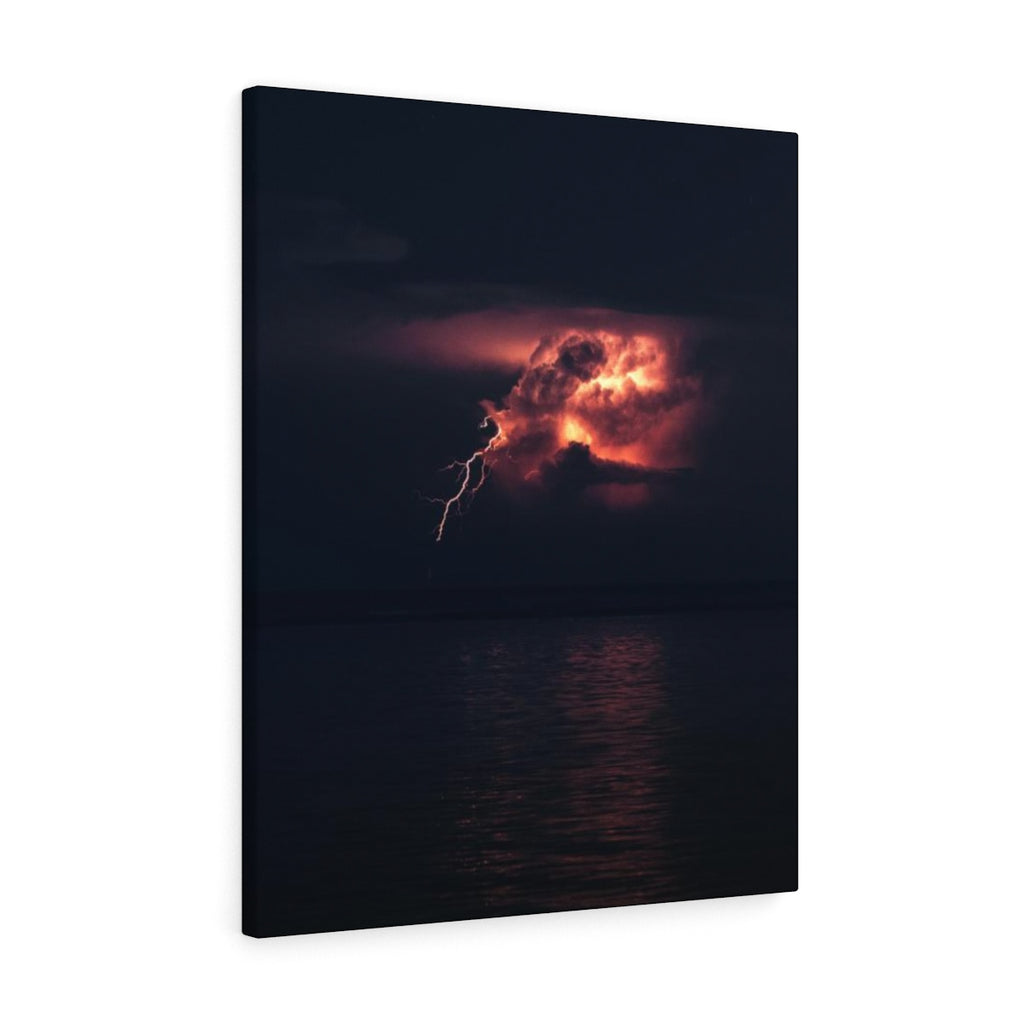 Usain Lightning Bolt Jamaica - Canvas