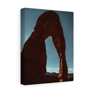 Delicate Arch at Full Moon - Canvas