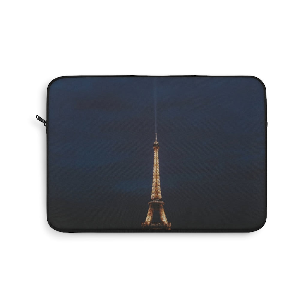 Crepes at the Tower - Paris Laptop Sleeve