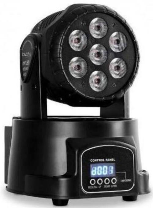 LM70-XB - Cabezal Móvil WASH + BEAM LED 6 x 8W Wash + 1 x 8W Beam