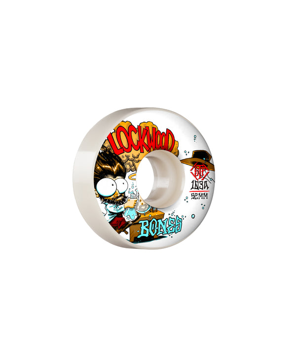 52MM BONES STF LOCKWOOD EXPERI-MENTAL V3 SLIMS 103A WHEELS