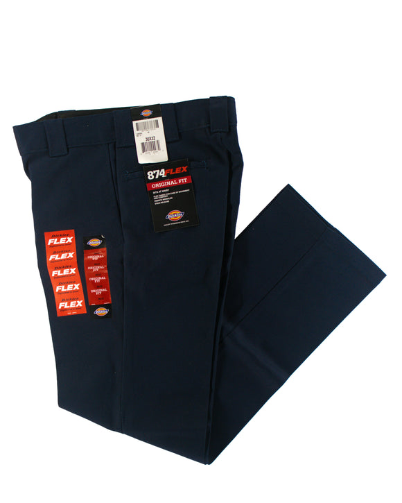 DICKIES 874 FLEX ORIGINAL  FIT BLUE