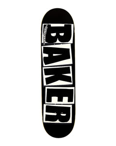 8.25 BAKER BRAND LOGO BLACK/WHITE DECK