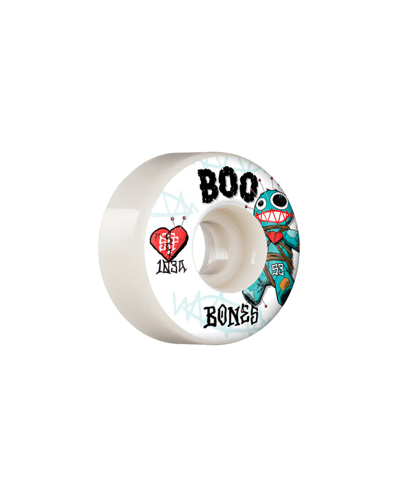 55MM BONES STF BOO VOODOO V4 WIDE 103A WHEELS