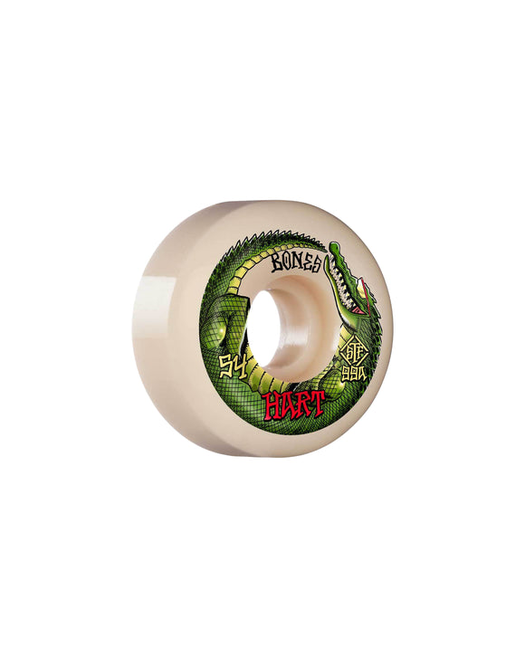 54MM BONES STF HART SPEED GATOR V5 SIDECUT 99A WHEELS