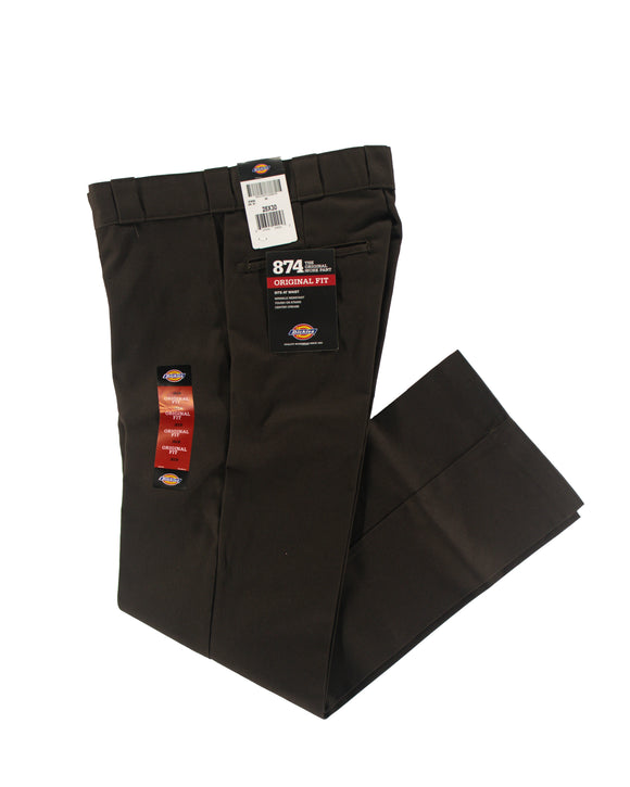 DICKIES 874 ORIGINAL FIT WORK PANT BROWN