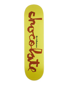 8.25 CHOCOLATE ANDERSON OG CHUNK YELLOW/BROWN DECK