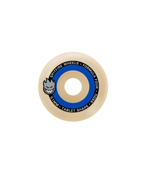 54MM SPITFIRE F4 TABLET 99DURO TABLETS WHEELS