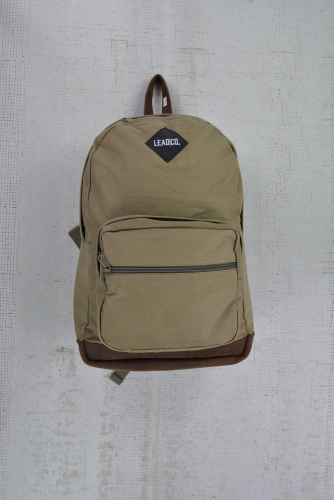 LEAD CANVAS BACKPACK DESERT GREEN