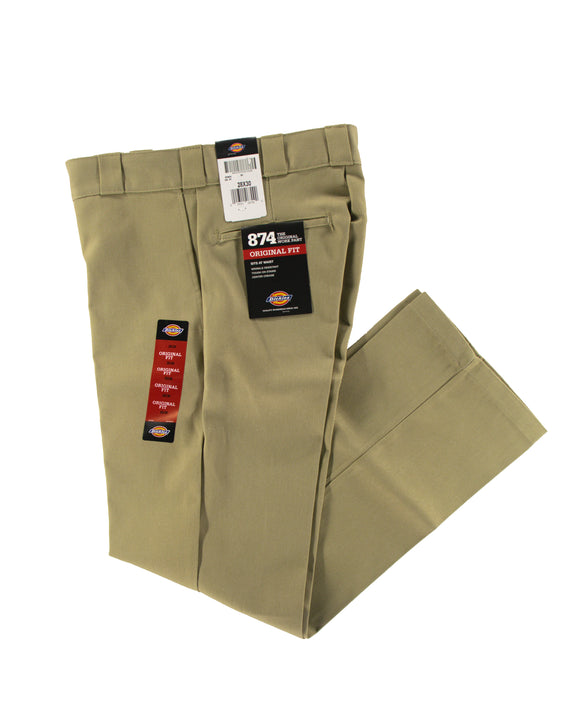 DICKIES 874 ORIGINAL FIT WORK PANT KHAKI