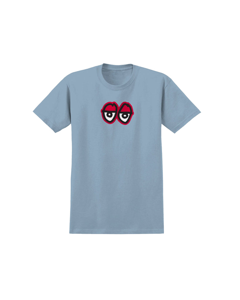 KROOKED EYES CAROLINA BLUE SHIRT