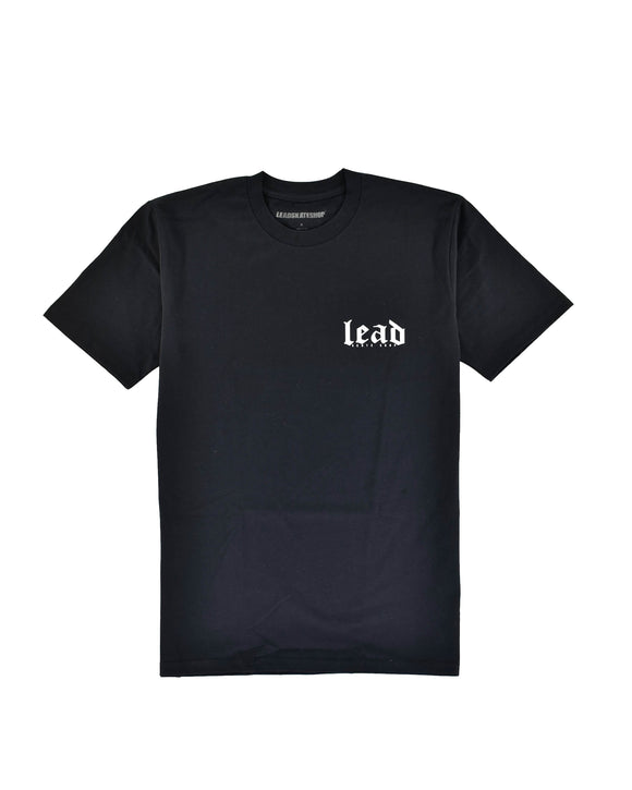 LEAD OG LOGO BLACK TEE