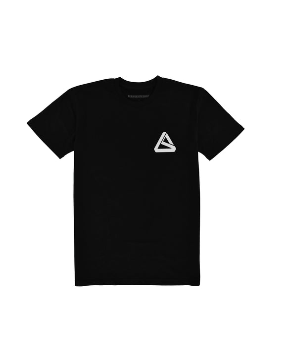 LEAD OG LS LOGO BLACK/WHITE TEE