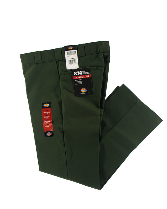 DICKIES 874 ORIGINAL FIT WORK PANT OLIVE GREEN