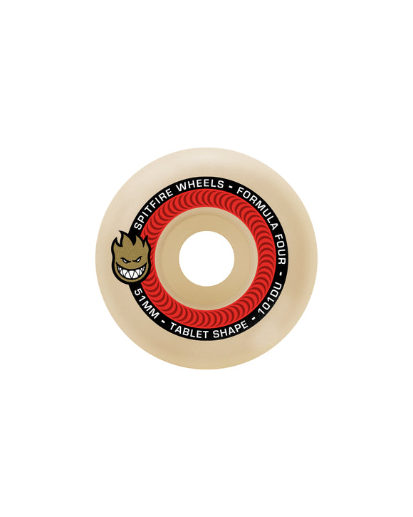 53MM SPITFIRE F4 101DURO TABLETS WHEELS