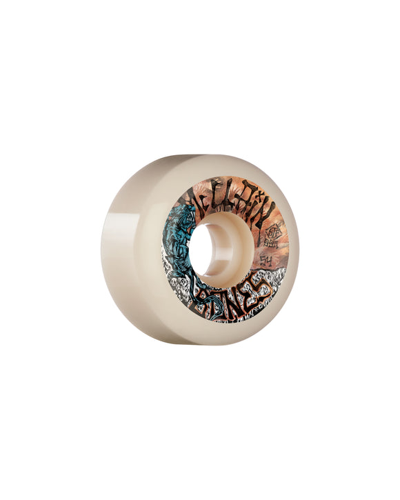 54MM BONES STF MCCLAIN PRIMAL V6 WIDECUT 99A WHEELS