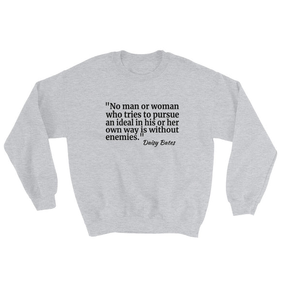 Got a Lot of Enemies Sweatshirt - Discover Brazen