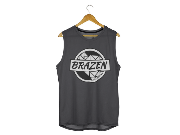 The Signature Black & White Tank - Discover Brazen