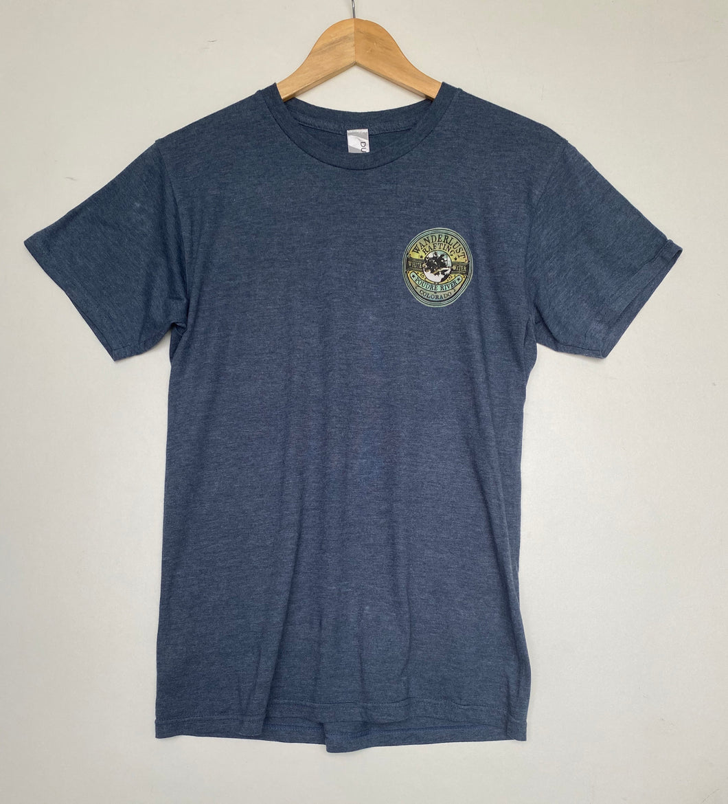 Printed 'Rafting' t-shirt (S)