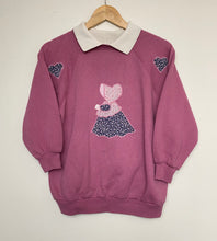 Load image into Gallery viewer, Embroidered sweatshirt (S)