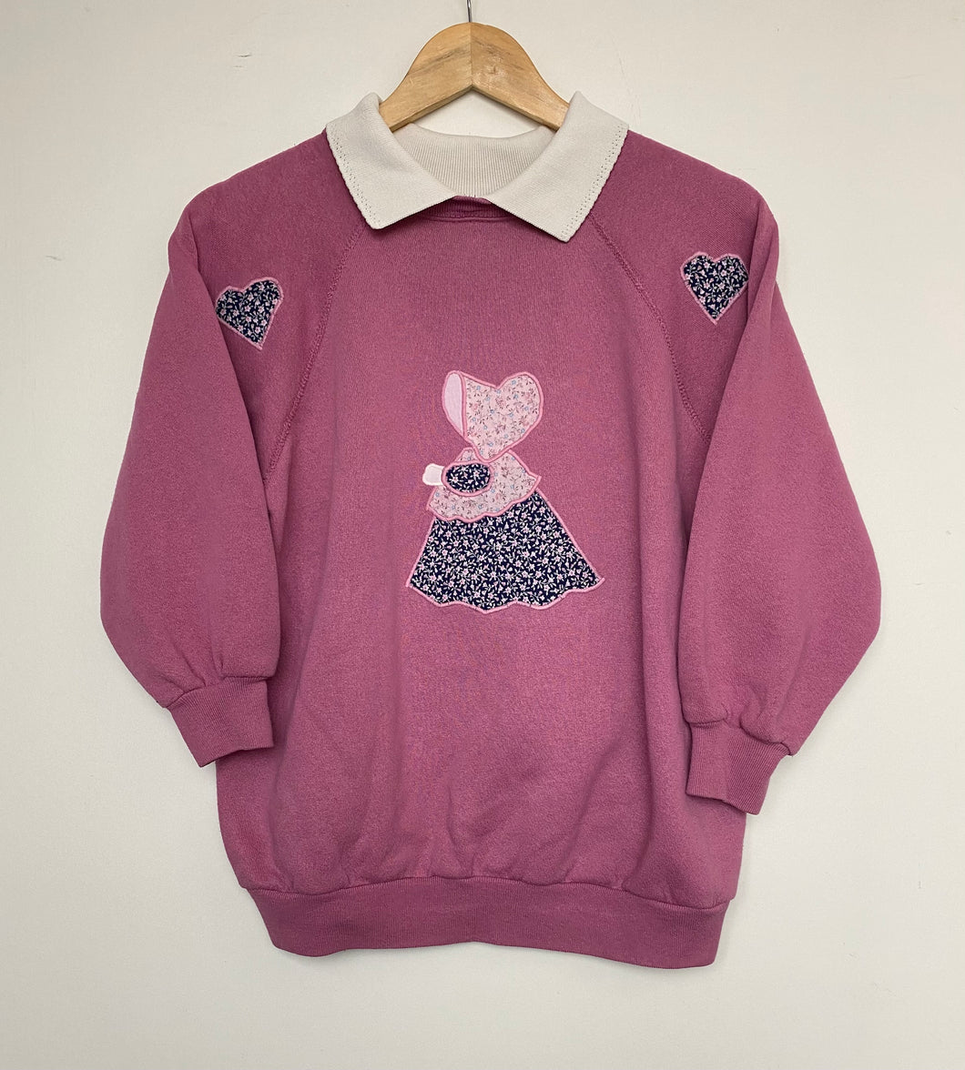 Embroidered sweatshirt (S)