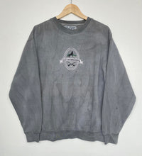 Load image into Gallery viewer, Embroidered 'Wolf' sweatshirt (L)