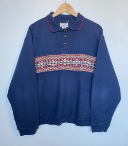 Button up sweatshirt (L)