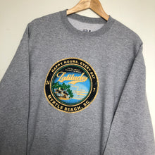 Load image into Gallery viewer, Printed 'Beach' sweatshirt (L)