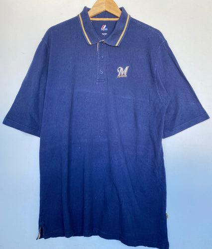 MLB Milwaukee Brewers polo (L)