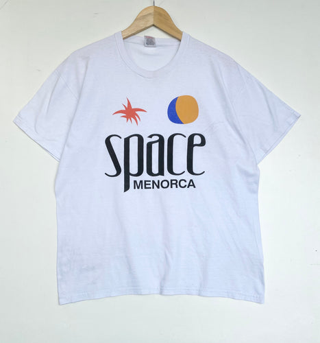 Printed 'Space' t-shirt (M)