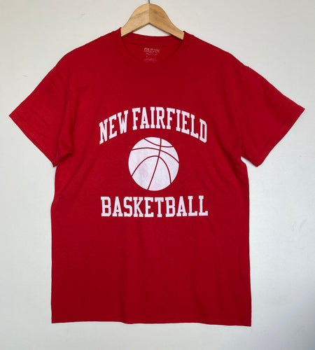 Printed 'Basketball' t-shirt (M)