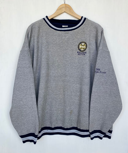 Embroidered 'Golf' sweatshirt (2XL)