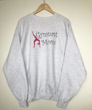 Load image into Gallery viewer, Embroidered 'Gymnast Mom' sweatshirt (XL)