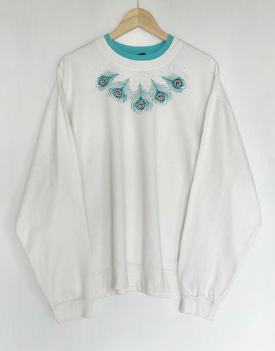 Embroidered sweatshirt (2XL)