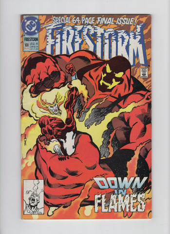 Firestorm #100 (2nd Series, 1982) FN