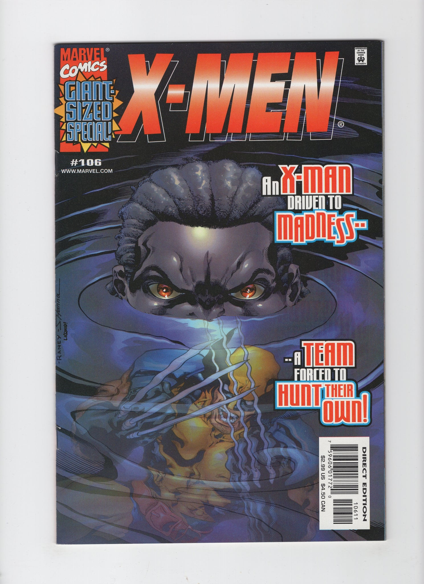 X-Men #106 (1st Series, 1991) VF+