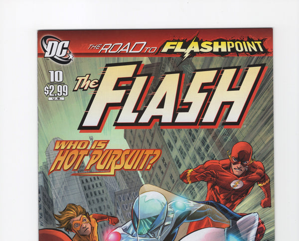The Flash #10 (3rd Series, 2010) VF+