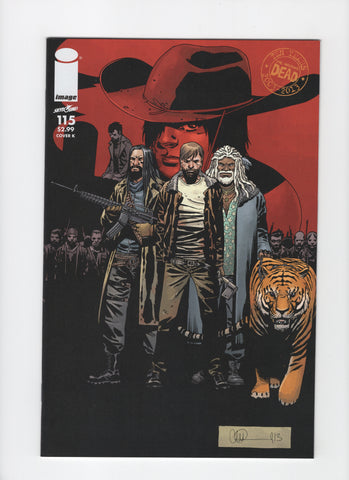 The Walking Dead #115K NM