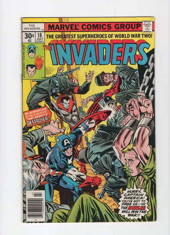 Invaders #18 VF-