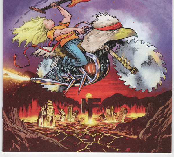 Murder Falcon #1B - Heavy Metal Variant - NM