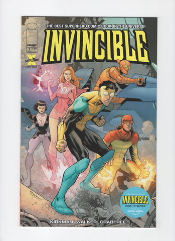 Invincible #1 - Amazon Prime Video Variant - NM-