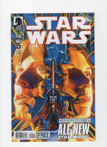 Star Wars #1 (Dark Horse, 2nd Series 2012) NM-