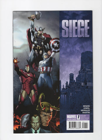 Siege #1-4 - Full Run - NM-